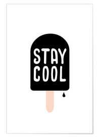 Póster  stay cool - Ohkimiko