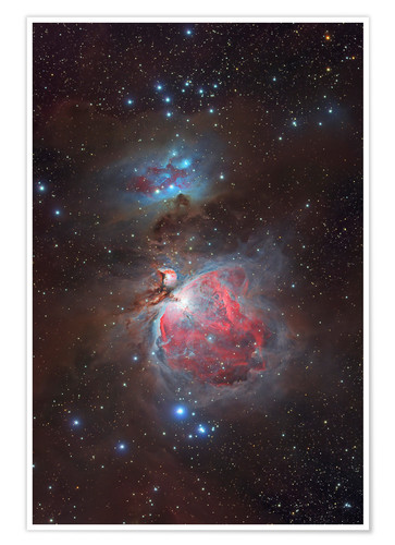 Póster Messier 42, The Great Nebula in Orion