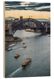 Madera  View over Sydney harbour after sunset, Sydney, New South Wales, Australia, Pacific - Michael Runkel