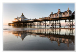 Póster Eastbourne Pier at sunrise, Eastbourne, East Sussex, England, United Kingdom, Europe