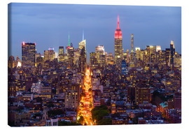 Lienzo  Empire State Building and city skyline, Manhattan, New York City, United States of America, North Am - Fraser Hall