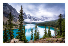 Póster Moraine Lake