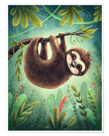 Póster Little Sloth