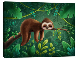 Lienzo  Little Sloth - Elena Schweitzer