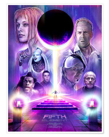 Póster The Fifth Element
