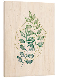 Madera  Geometry and Nature III  - Barlena