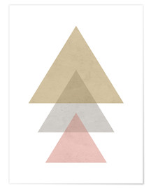Póster pink triangle