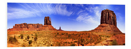 Cuadro de PVC  Monument Valley - fotoping