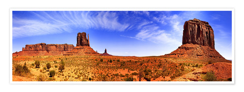 Póster Monument Valley