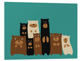 Forex  Bear friends turquoise - Kidz Collection