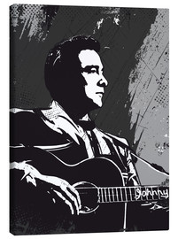 Lienzo  Johnny Cash - 2ToastDesign