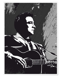 Póster  Johnny Cash - 2ToastDesign