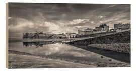 Cuadro de madera  Tenby Harbour Reflections - Simon West