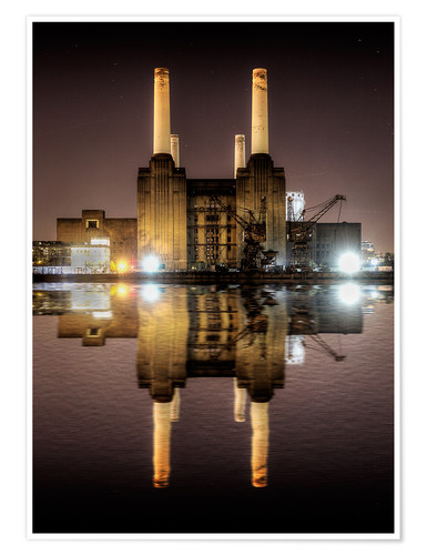 Póster Battersea Power Station