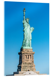 Cuadro de metacrilato  Statue of Liberty on Liberty Island, New York City, USA - Jan Christopher Becke