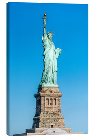 Lienzo  Statue of Liberty on Liberty Island, New York City, USA - Jan Christopher Becke