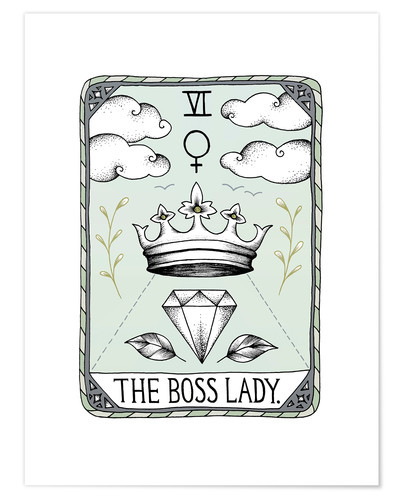 Póster The Boss Lady