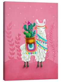 Lienzo  Illustration of a cute llama - Elena Schweitzer
