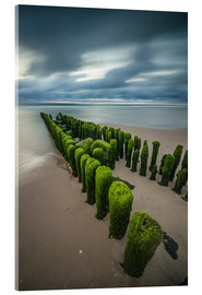 Metacrilato  mystical groyne on Sylt (long exposure) - Heiko Mundel