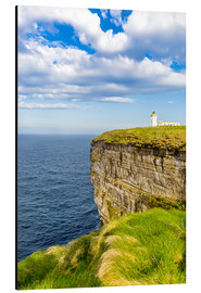 Cuadro de aluminio  Duncansby Head Lighthouse at John o Groats - Reemt Peters-Hein