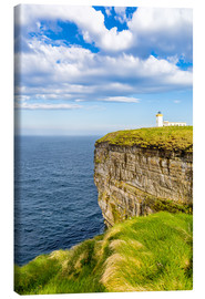 Lienzo  Duncansby Head Lighthouse at John o Groats - Reemt Peters-Hein