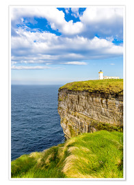 Póster Duncansby Head Lighthouse at John o Groats