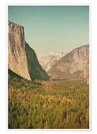 Póster Yosemite Valley XI