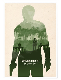 Póster Uncharted 4