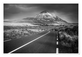 Póster The road to the mountain
