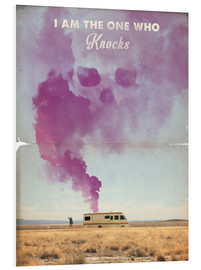 Cuadro de PVC  Breaking bad, lámina retro - 2ToastDesign