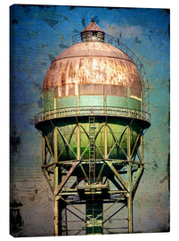 Lienzo  water tower - Dieter Ziegenfeuter