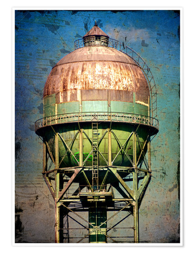 Póster water tower