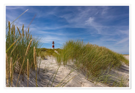 Póster Lighthouse List / East with dune