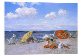 Cuadro de PVC  En la playa - William Merritt Chase