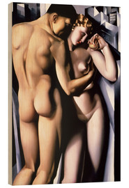 Madera  Adam and Eve  - Tamara de Lempicka