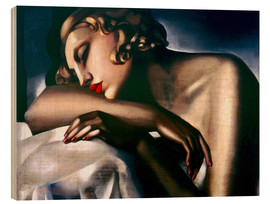 Madera  The Sleeping Girl - Tamara de Lempicka