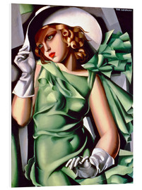 Forex  Young lady with gloves - Tamara de Lempicka
